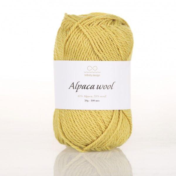 Пряжа Alpaca Wool Infinity design
