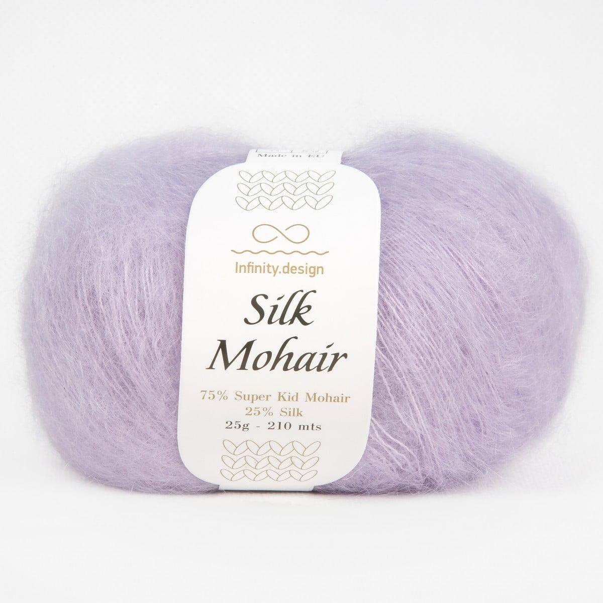 Пряжа Silk Mohair Infinity design