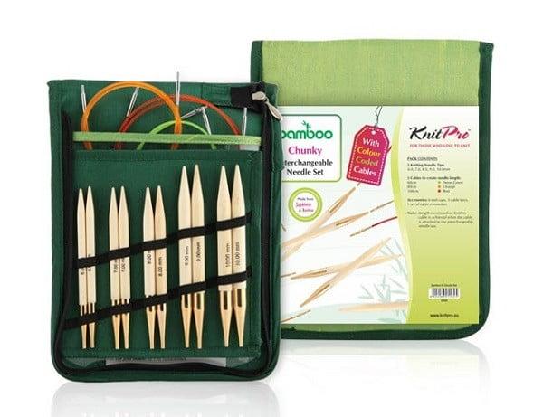 Набор Chunky съемных спиц Bamboo, KnitPro, 22543