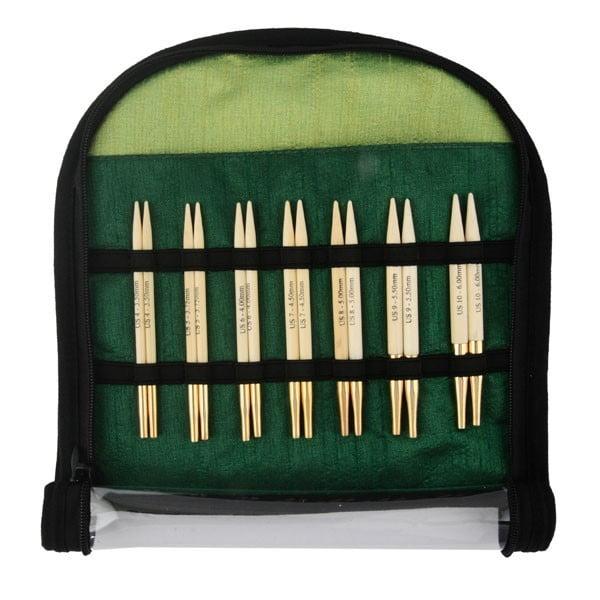 "Набор ""Special Interchangeable Needle Set"" укороченных съемных спиц ""Bamboo"", KnitPro, 22565"