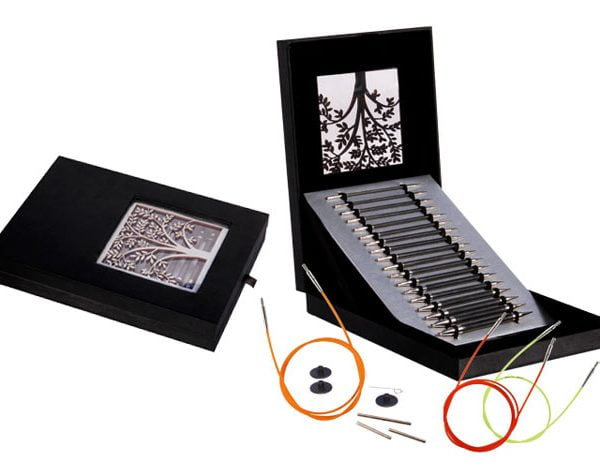 """Подарочный набор """"Interchangeable Needle Set"""" съемных спиц """"Karbonz"""", KnitPro, 41620"""