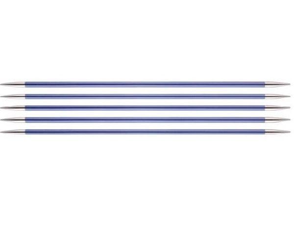 """Спицы чулочные """"Zing"""" 4,5мм/15см, KnitPro, 47010"""