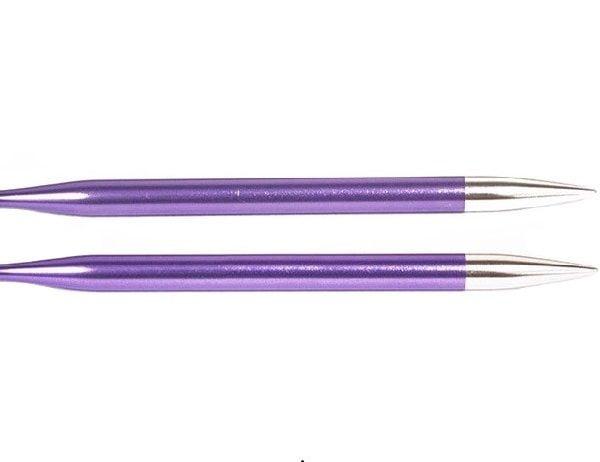 """Спицы съемные """"Zing"""" 7мм для длины тросика 28-126см, KnitPro, 47509"""