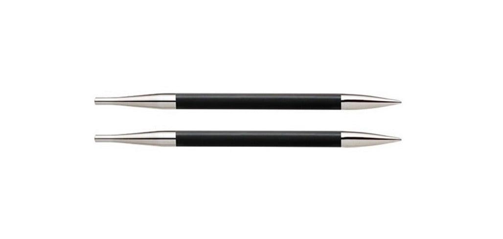 """Спицы съемные """"Karbonz"""" 4мм для длины тросика 28-126см, KnitPro, 41305"""