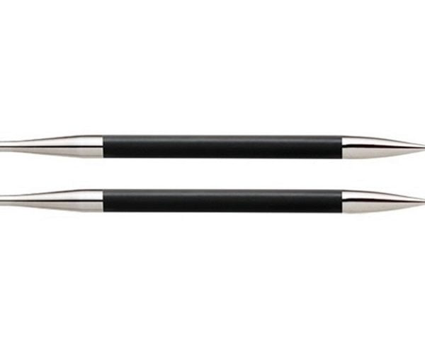 """Спицы съемные """"Karbonz"""" 6мм для длины тросика 28-126см, KnitPro, 41309"""