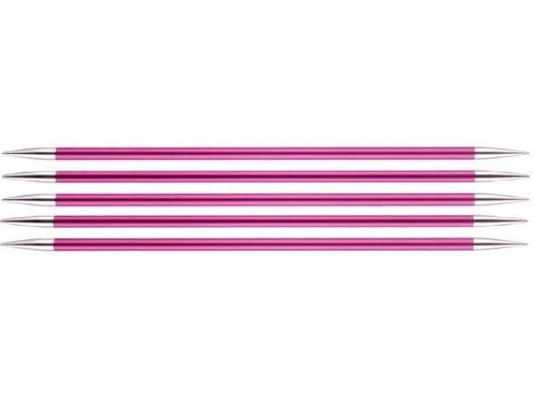 """Спицы чулочные """"Zing"""" 5мм/15см, KnitPro, 47011"""