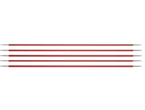 """Спицы чулочные """"Zing"""" 2,5мм/15см, KnitPro, 47003"""