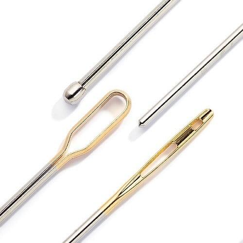 Иглы для протягивания резинки или тесьмы