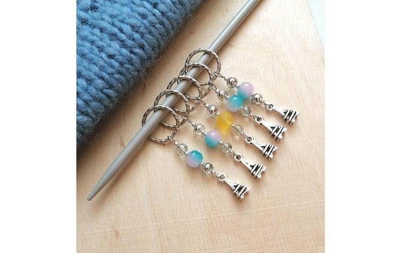 маркеры для вязания на колечках